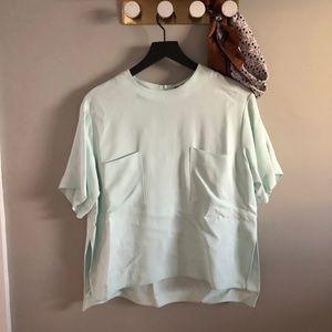 ZARA Pocket Tee Shirt Blouse
